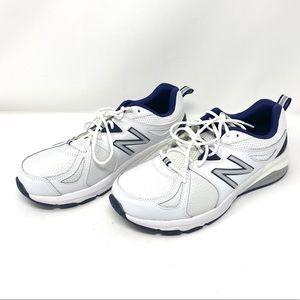 New Balance 857 Men's White Navy Blue Size 9 2-E
